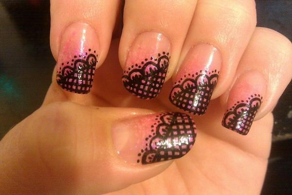 Рисунки ногти своими руками