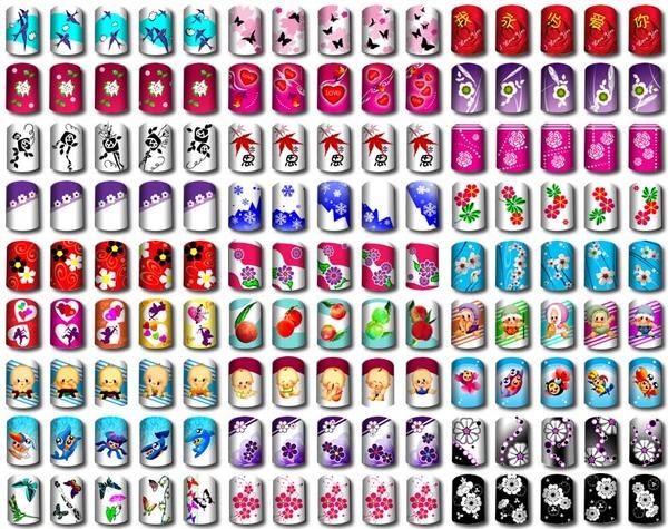 Простой рисунок на ногтях своими руками