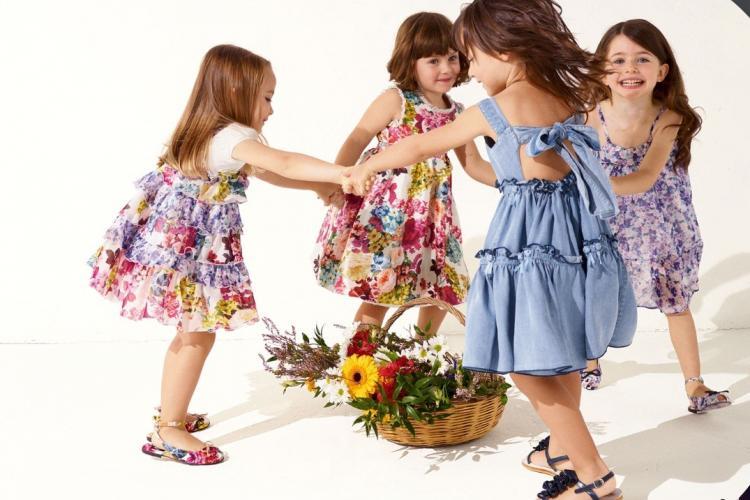 Детская мода для девочек 7-8 лет