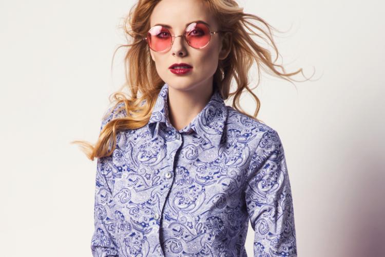 Узорчатые рубашки для женщин – как носить?