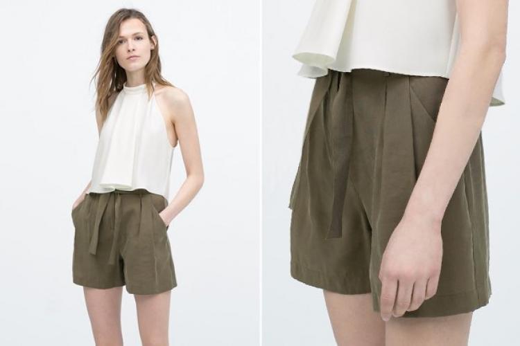 С чем носить замшевые шорты?