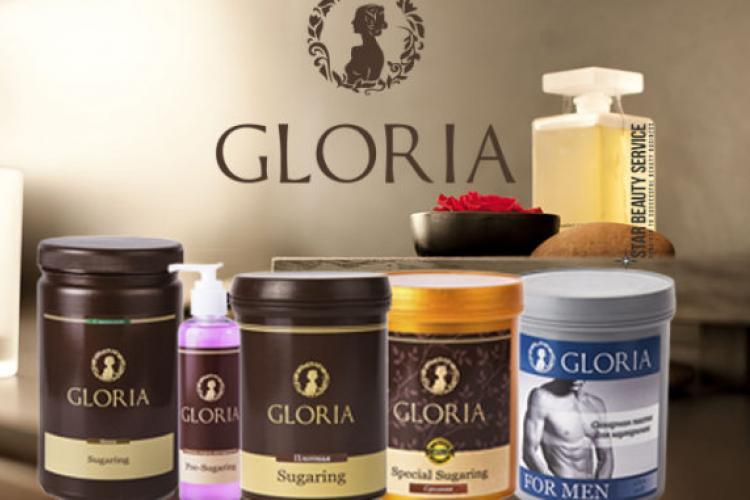 Ассортимент косметики бренда «Глория»