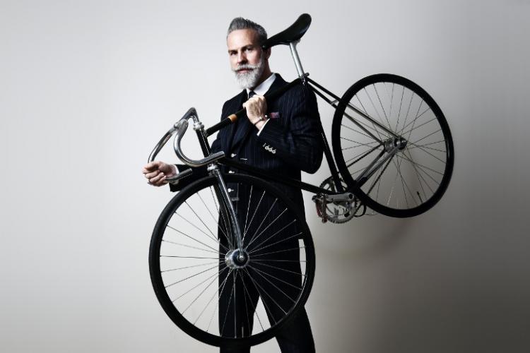Элегантный на велосипеде? Да!
