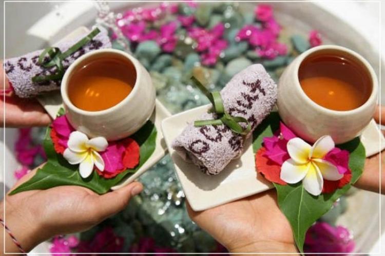 Чайная церемония в салоне красоты
